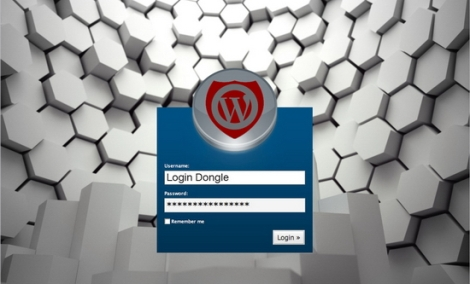 wordpress login dongle