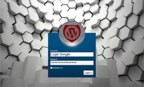 wordpress login dongle