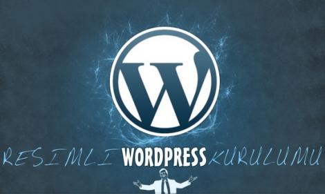 Resimli WordPress kurulumu
