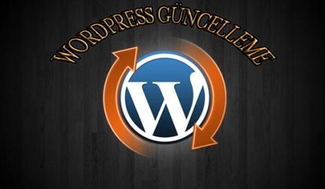 Wordpress sürüm güncelleme