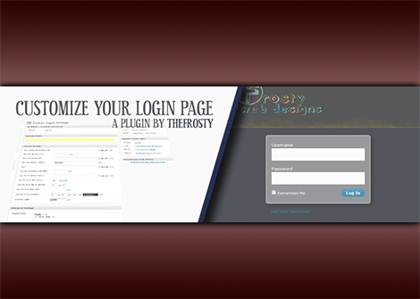 custom login