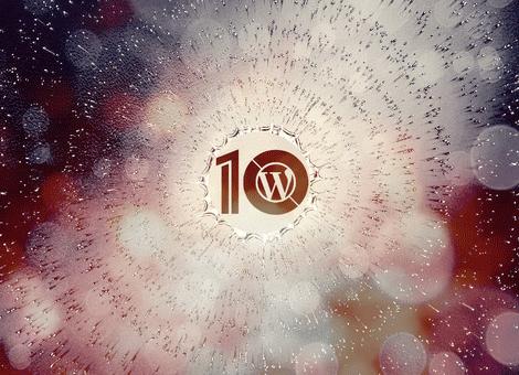 WordPress 10. Yıl Dönümü