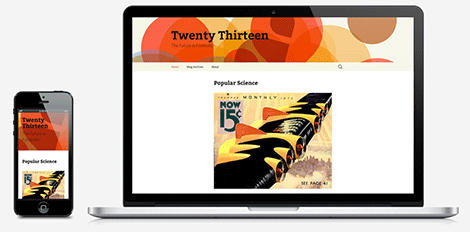 WordPress Twenty Thirteen Teması